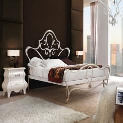 Кованая кровать КК122