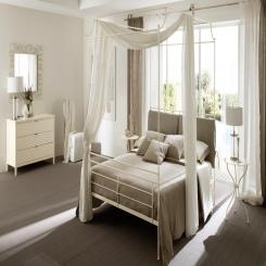 Кованая кровать КК101