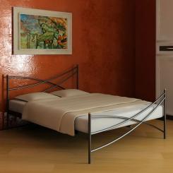 Кованая кровать КК102