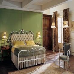 Кованая кровать КК130
