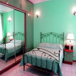 Кованая кровать КК103