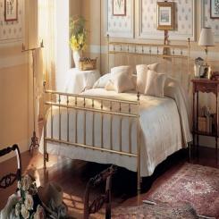 Кованая кровать КК133
