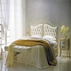 Кованая кровать КК136