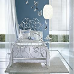 Кованая кровать КК138