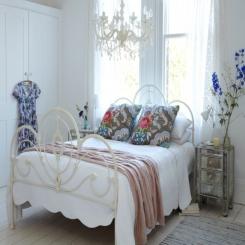 Кованая кровать КК141