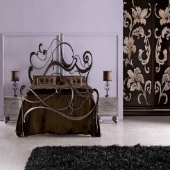 Кованая кровать КК145