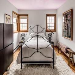Кованая кровать КК146