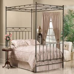 Кованая кровать КК147