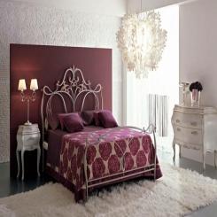 Кованая кровать КК148