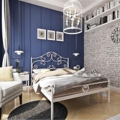 Кованая кровать КК149