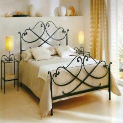 Кованая кровать КК151