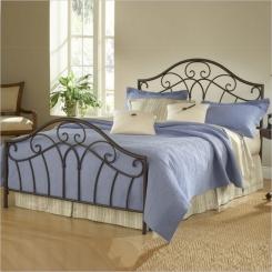 Кованая кровать КК152