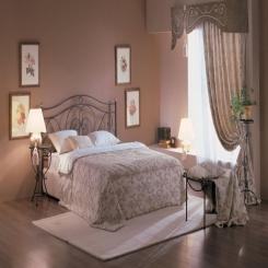 Кованая кровать КК107