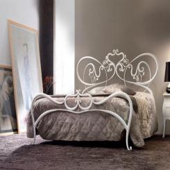 Кованая кровать КК153