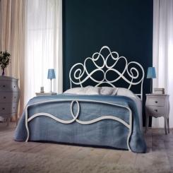 Кованая кровать КК155