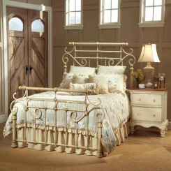 Кованая кровать КК110