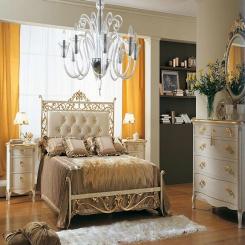 Кованая кровать КК111