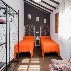 Кованая кровать КК169