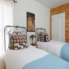 Кованая кровать КК171