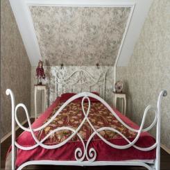 Кованая кровать КК172