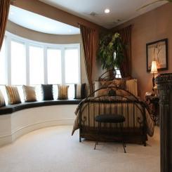 Кованая кровать КК173