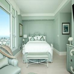 Кованая кровать КК174
