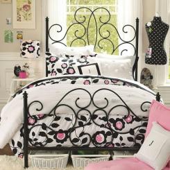 Кованая кровать КК156