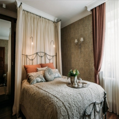 Кованая кровать КК157