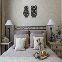 Кованая кровать КК178