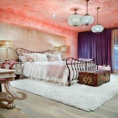 Кованая кровать КК179
