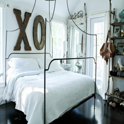 Кованая кровать КК181
