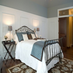 Кованая кровать КК183