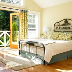 Кованая кровать КК187