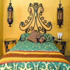 Кованая кровать КК188