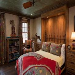 Кованая кровать КК189