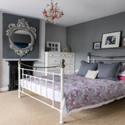 Кованая кровать КК192
