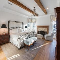 Кованая кровать КК194