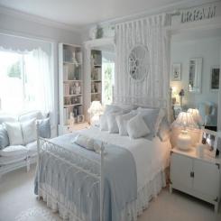 Кованая кровать КК195