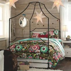 Кованая кровать КК201