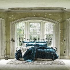 Кованая кровать КК202
