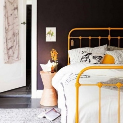 Кованая кровать КК203