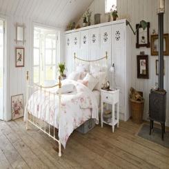 Кованая кровать КК205