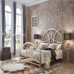 Кованая кровать КК161