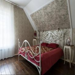 Кованая кровать КК162