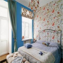 Кованая кровать КК163