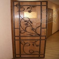 Кованая дверь КД 7
