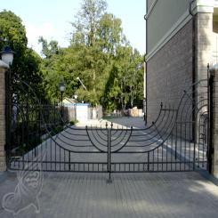 Кованые ворота КВ 12