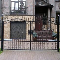 Кованые ворота КВ 13