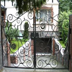Кованые ворота КВ 14