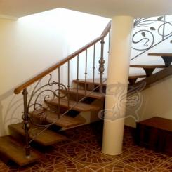 Кованая лестница ККЛ 4
